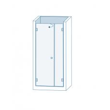 Комплект для распашных дверей CL-200 (set 2)