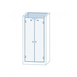 Комплект для распашных дверей CL-200 (set 4)
