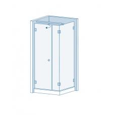 Комплект для распашных дверей CL-200 (set 6)