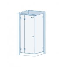 Комплект для распашных дверей CL-200 (set 7)