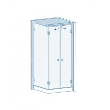 Комплект для распашных дверей CL-200 (set 9)