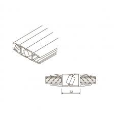 PVCM-1101 Уплотнитель для душевых кабин магнитный