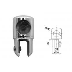 SBR - 401 PC Держатель штанги к стеклу