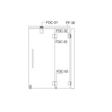 """FDC-6200 (set 1) """"Гармоника"""" система раздвижных перегородок"""