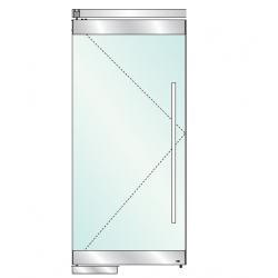 FDP-6300 Маятниковая дверь