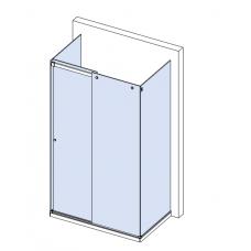 Комплект для раздвижной душевой перегородки SL-300 (set 4)