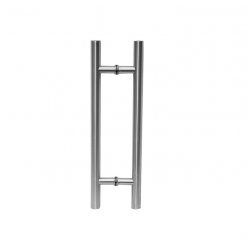 DHS-511 SSS Ручка для стеклянной двери 600/425/25