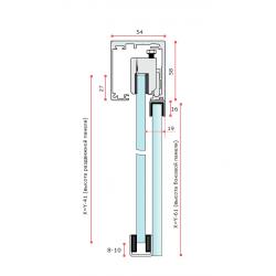 SF-5400 (Set 2) Система раздвижных дверей