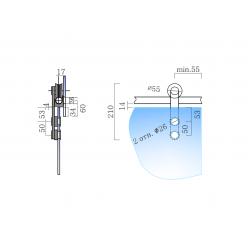 SDS-5100 (set 3) Комплект для раздвижной системы