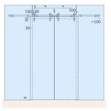 SDS-5100 (set 4) Комплект для раздвижной системы