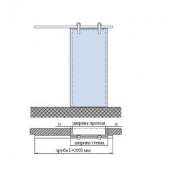 SDS-5200 (set 1) Комплект для раздвижной системы