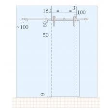 SDS-5200 (set 3) Комплект для раздвижной системы